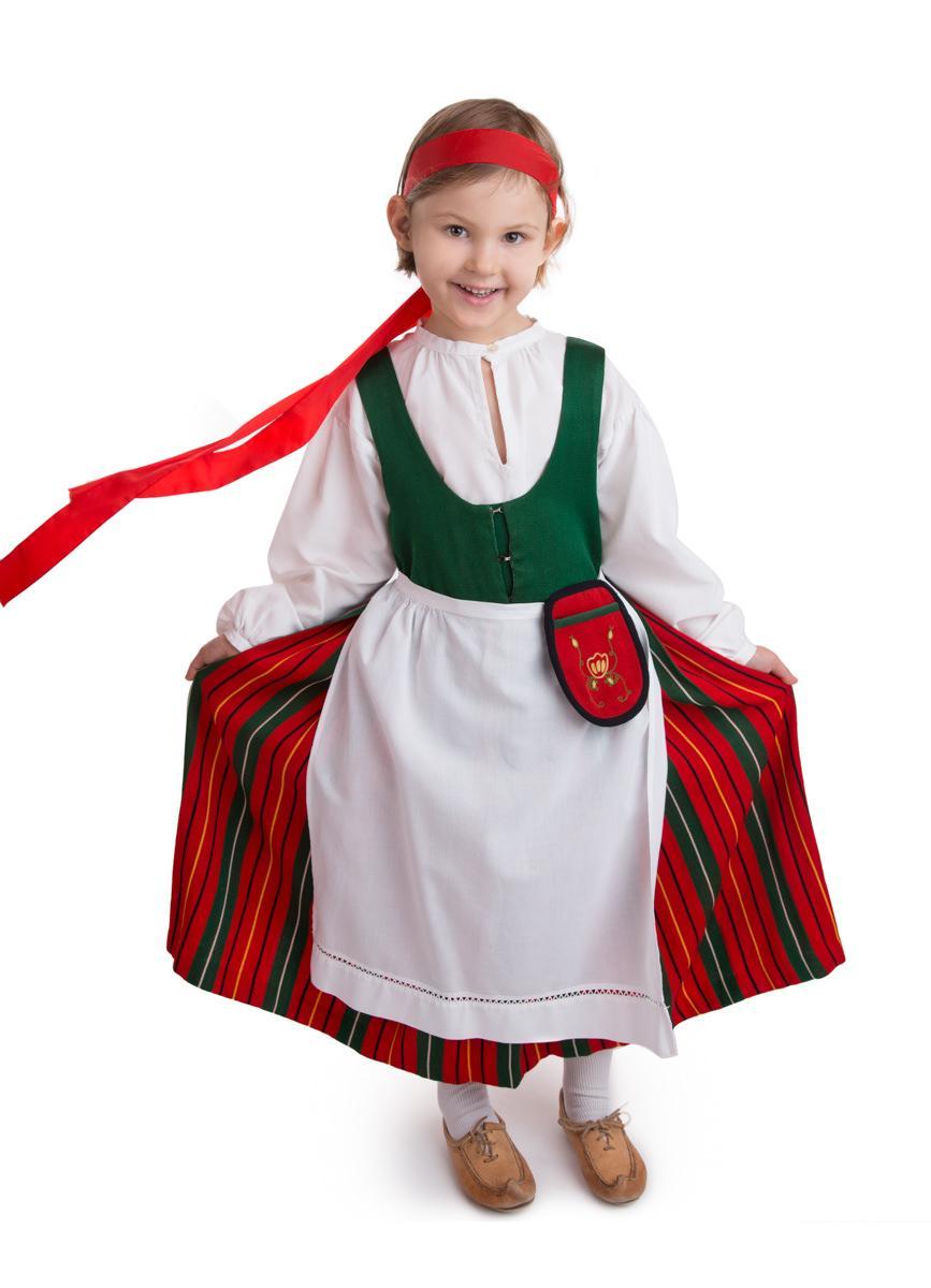 Kirkkonummen tytön puku