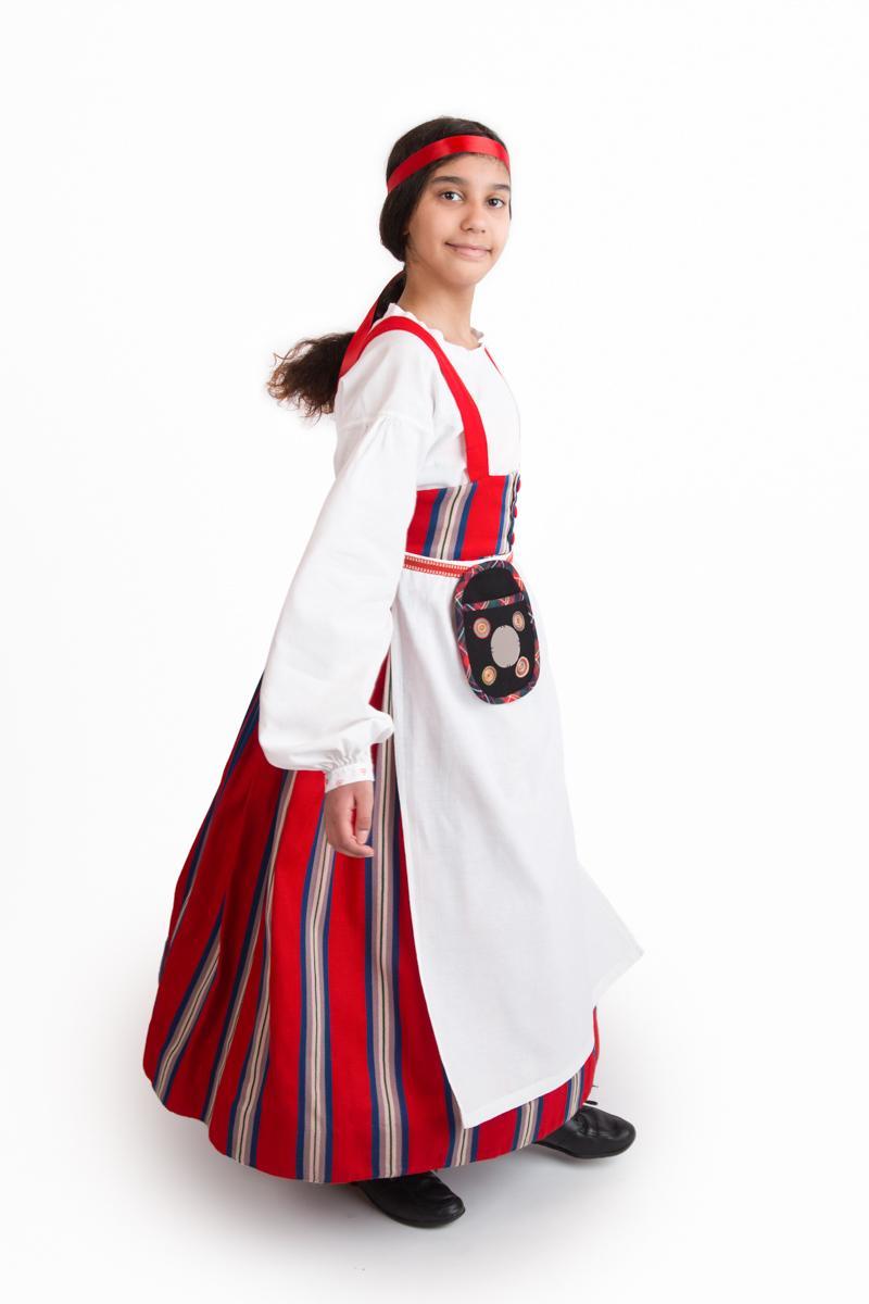 Nastola-Asikkalan tytön puku